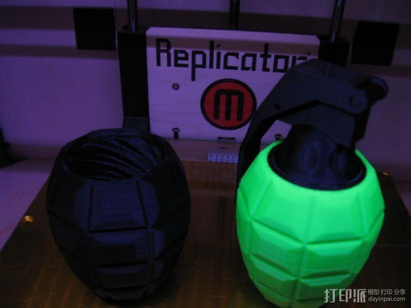 手榴弹形容器 3D模型  图3