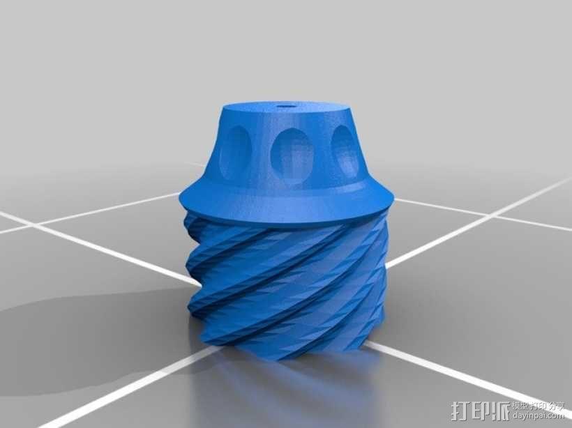 手榴弹形容器 3D模型  图4