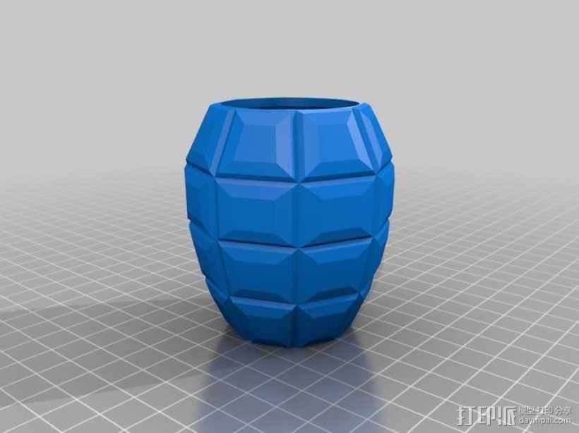 手榴弹形容器 3D模型  图5