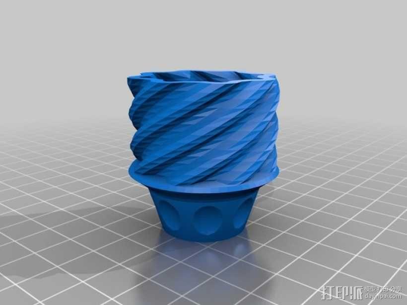 手榴弹形容器 3D模型  图6