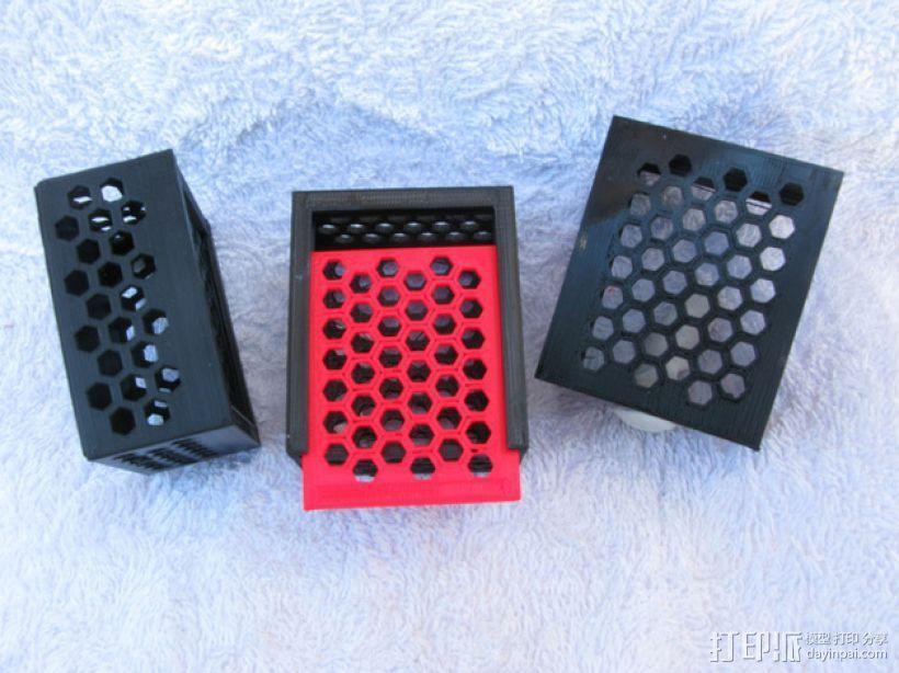 六边形镂空小盒 3D模型  图1