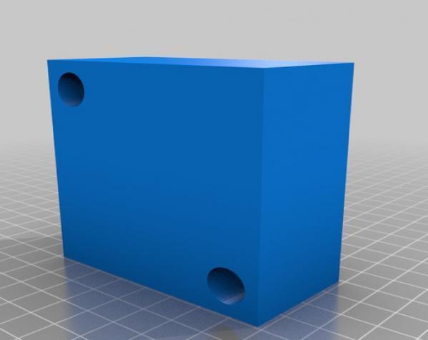 圆形冰球制作模具 3D模型  图1