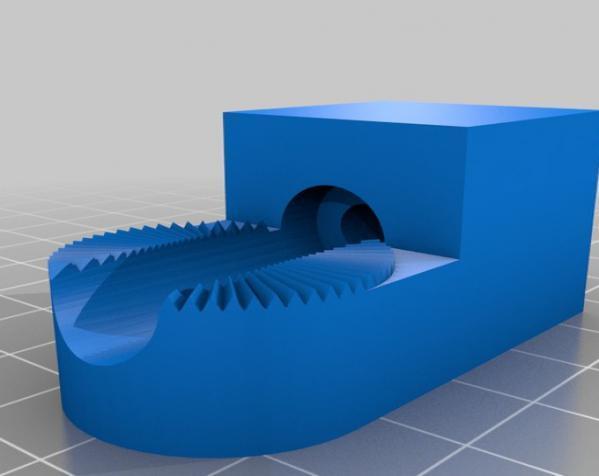 壁挂式扬声器 3D模型  图2