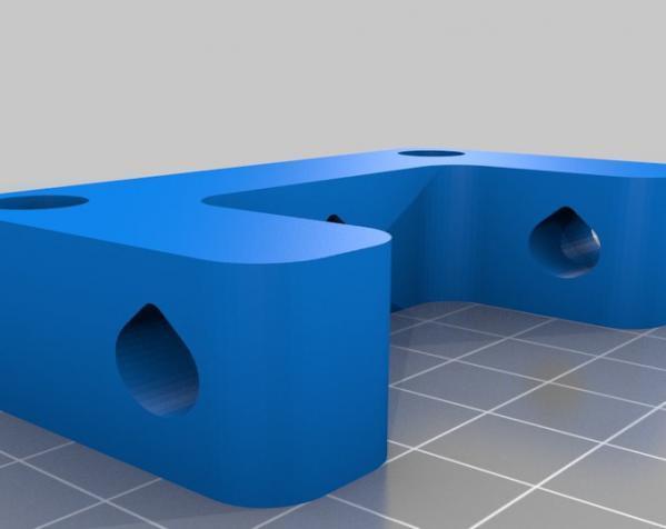 可调整显示器架 3D模型  图5