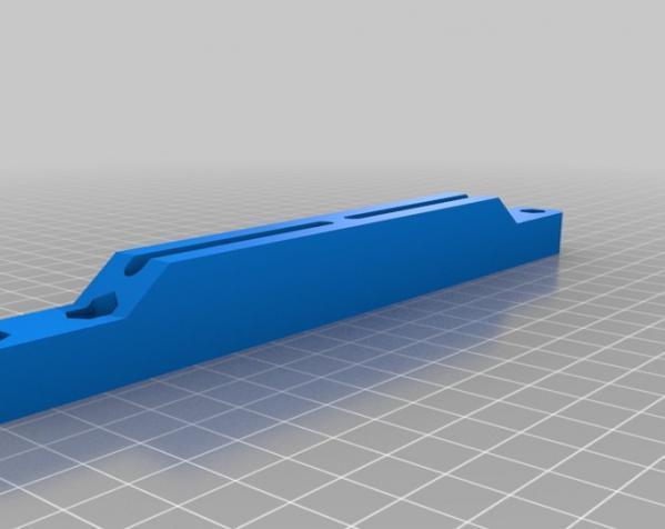 可调整显示器架 3D模型  图6