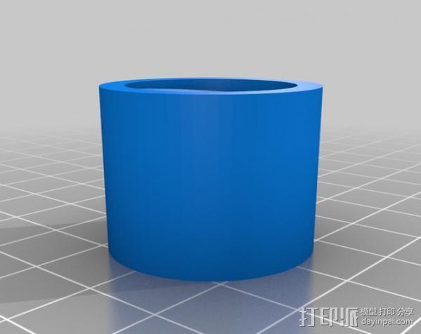 拖把/滚漆筒/扫帚/刮墨刀调节器 3D模型  图2