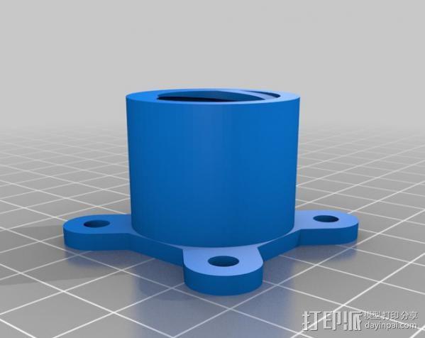 拖把/滚漆筒/扫帚/刮墨刀调节器 3D模型  图4