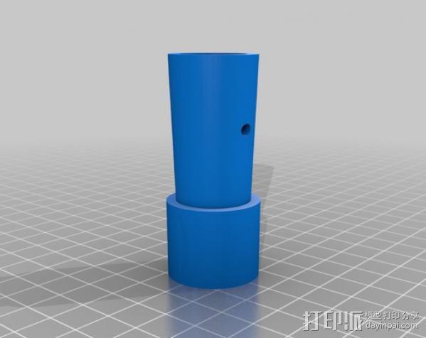拖把/滚漆筒/扫帚/刮墨刀调节器 3D模型  图5