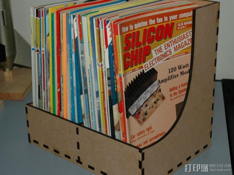 杂志盒 3D模型  图1