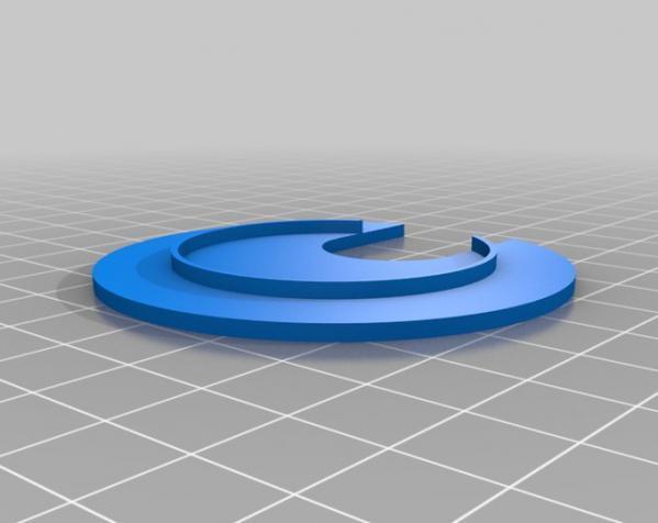 圆形接线口 3D模型  图4