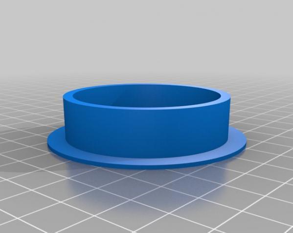 圆形接线口 3D模型  图3