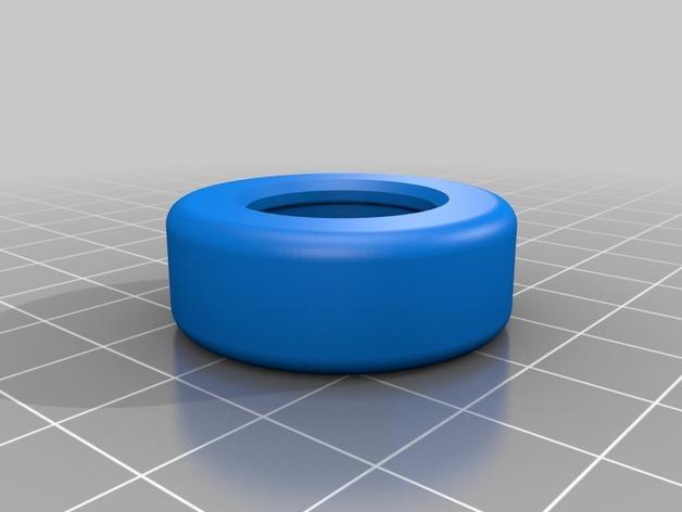 多功能训练器材支撑轮 3D模型  图2