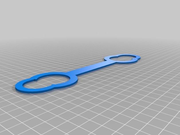 苏打水瓶架 3D模型  图3