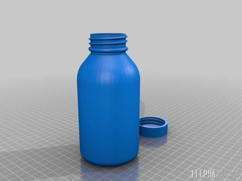 SKS瓶 3D模型  图1