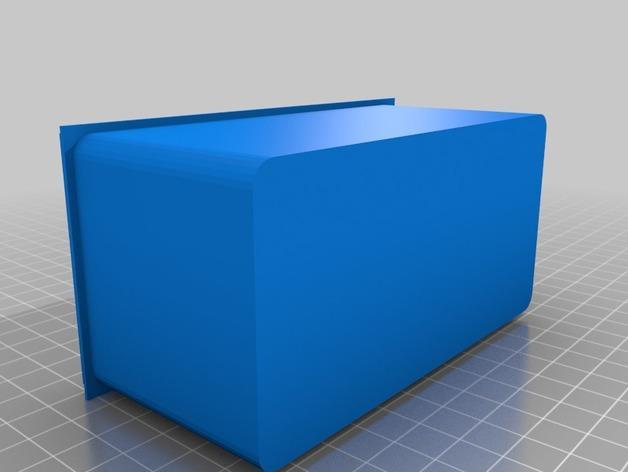 简易存储盒 3D模型  图2