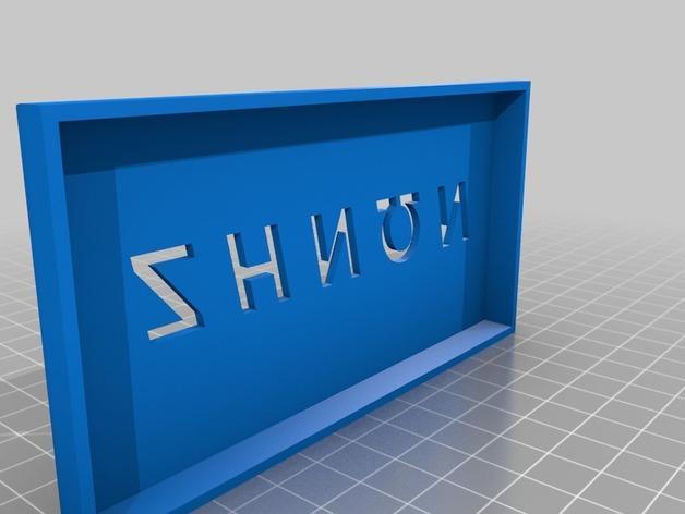 简易存储盒 3D模型  图3
