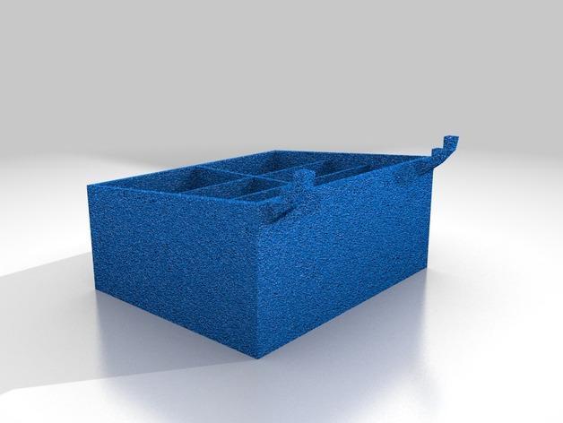 迷你钉板盒 3D模型  图2
