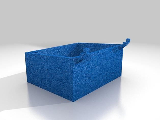 迷你钉板盒 3D模型  图4