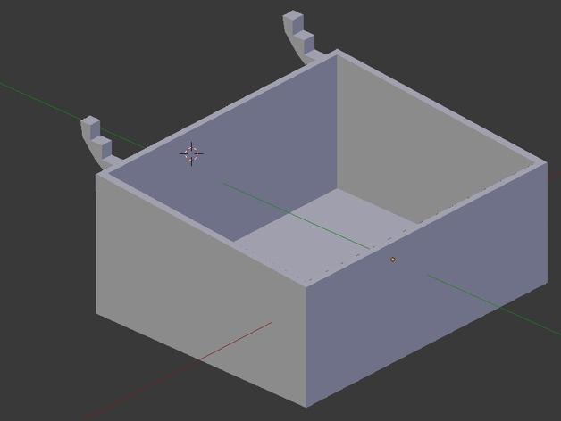 迷你钉板盒 3D模型  图7