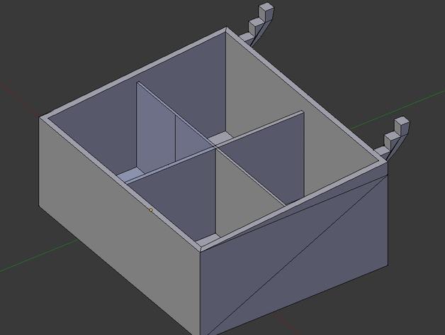 迷你钉板盒 3D模型  图6