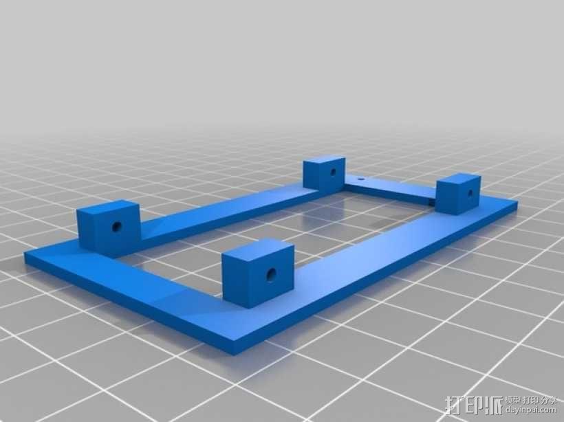 名片分发盒 3D模型  图4