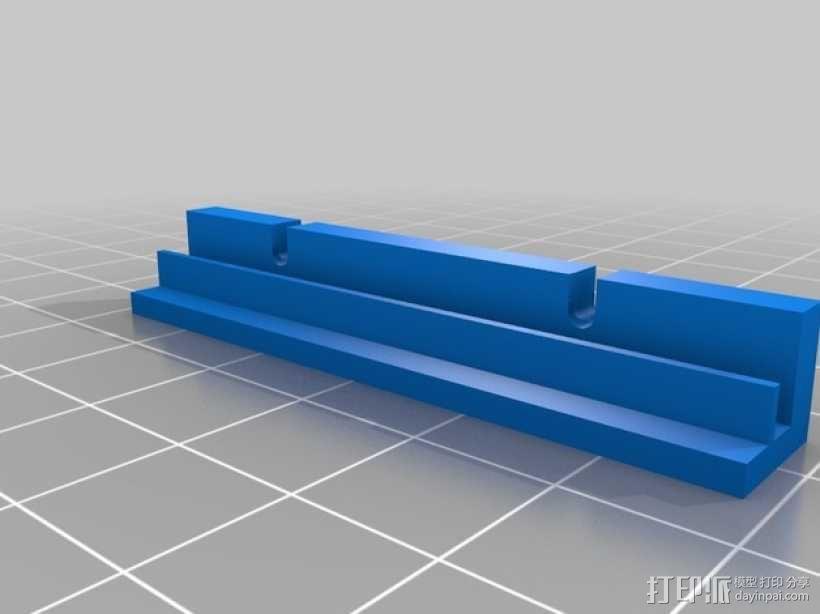 名片分发盒 3D模型  图5