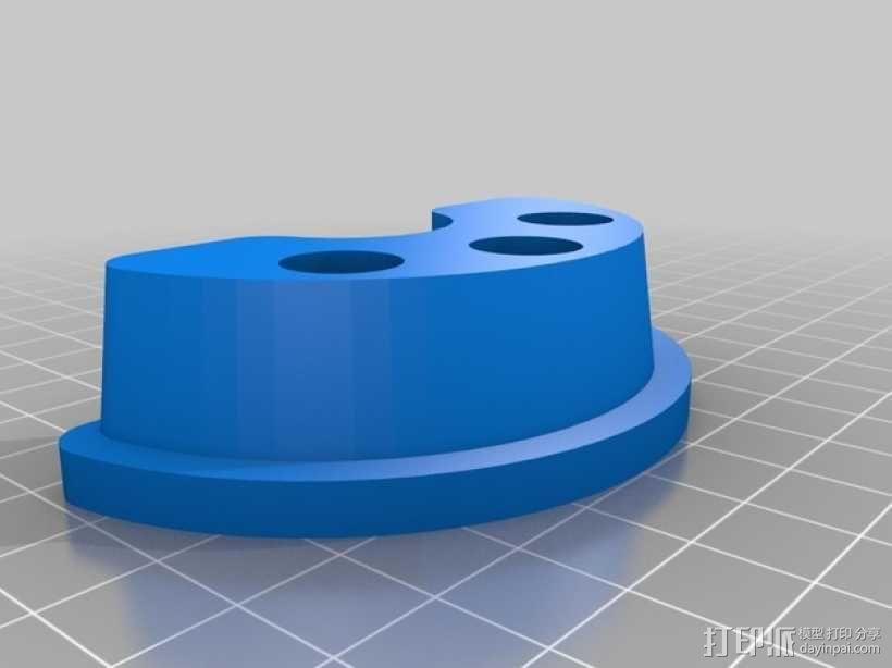 博朗电动牙刷架 3D模型  图3