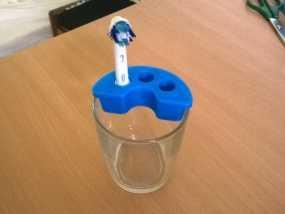博朗电动牙刷架 3D模型