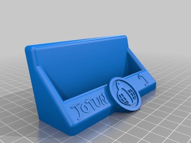 Jotun名片夹 3D模型  图2