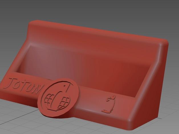 Jotun名片夹 3D模型  图5