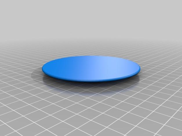 圆形笔筒 3D模型  图3