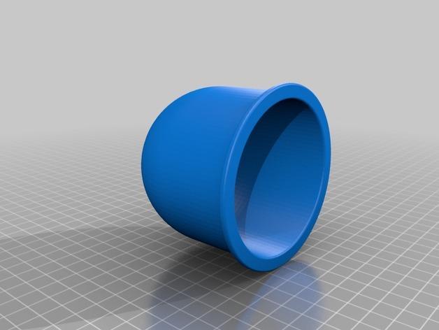圆形笔筒 3D模型  图2