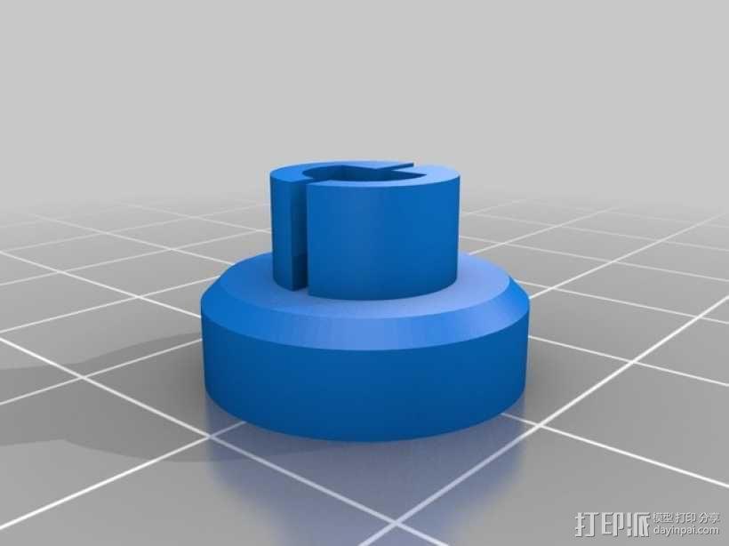 电位计按钮 3D模型  图2