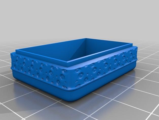 迷你首饰盒 3D模型  图2