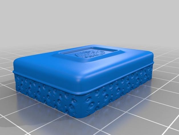 迷你首饰盒 3D模型  图3