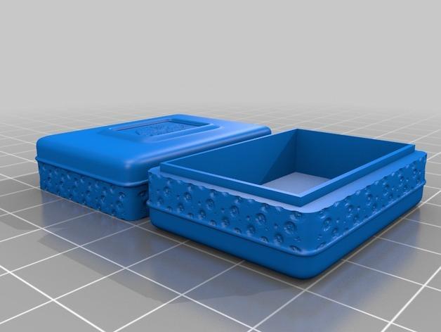 迷你首饰盒 3D模型  图4