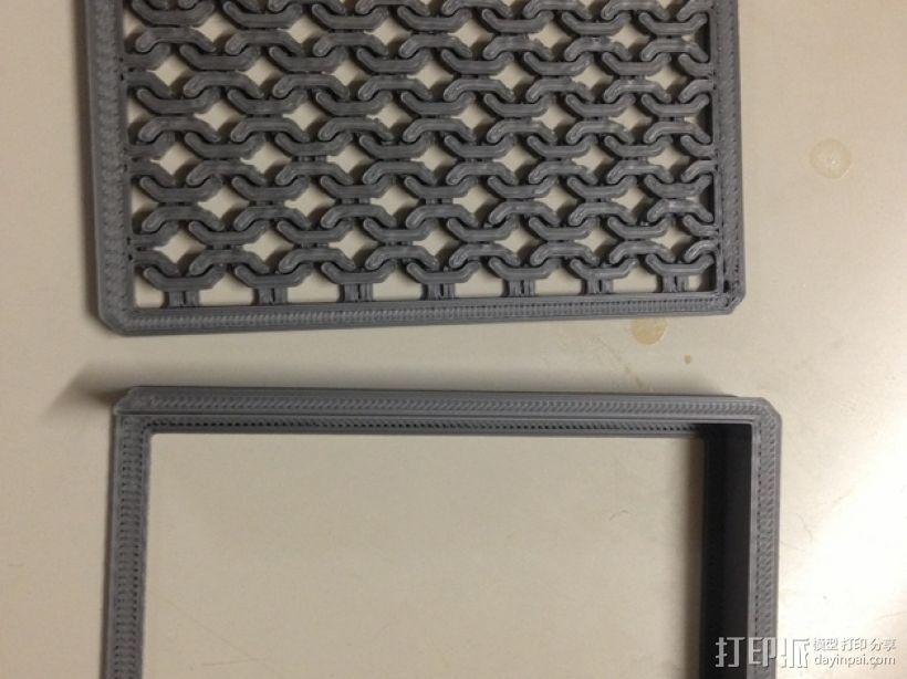 方形名片盒 3D模型  图5