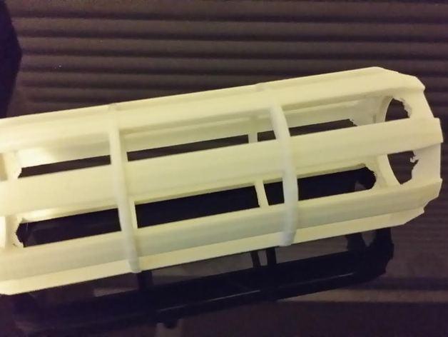 厕纸卷内轴 3D模型  图2