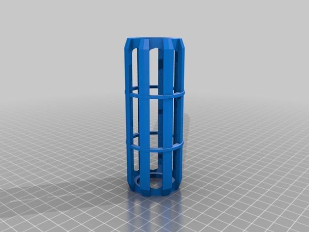厕纸卷内轴 3D模型  图1