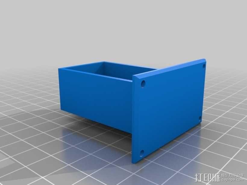 吉他电池盒 3D模型  图2