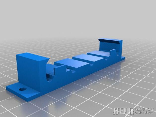 电线电缆夹 3D模型  图3