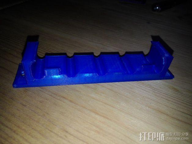电线电缆夹 3D模型  图1