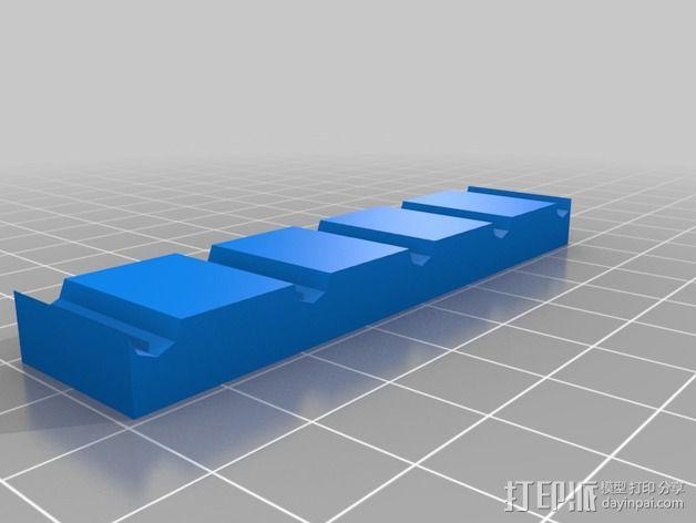 电线电缆夹 3D模型  图2