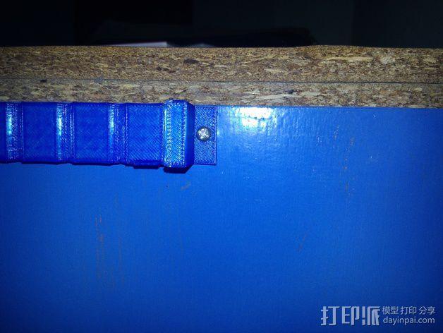 电线电缆夹 3D模型  图5