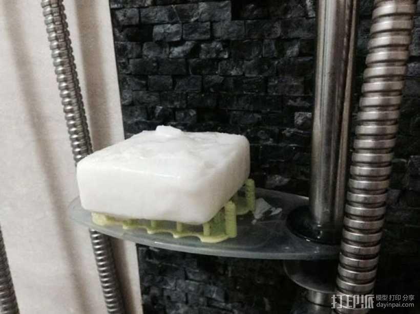 镂空肥皂架 3D模型  图4