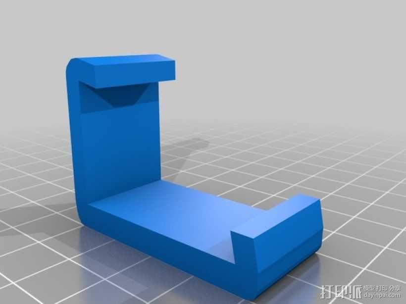 盒子固定夹 3D模型  图2