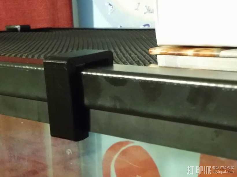 盒子固定夹 3D模型  图1