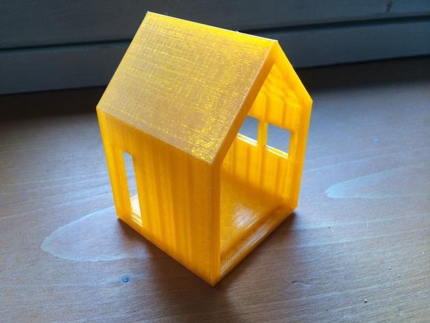 迷你小屋 3D模型  图2