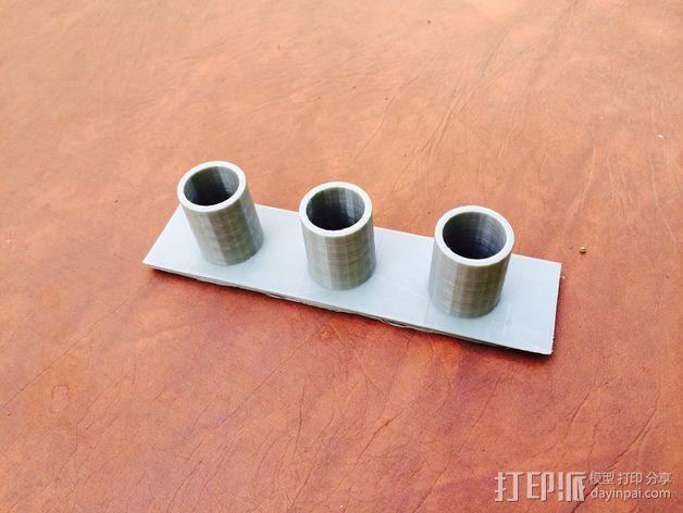 真空吸尘器配件架 3D模型  图1