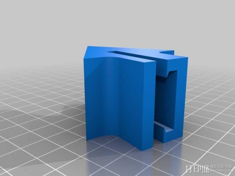 沙发套防卷夹 3D模型  图2